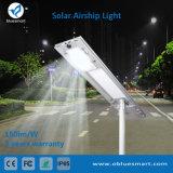 Im Freieneinteiliges/integrierten Solar-LED-Straßen-Garten-Fühler-Licht mit Batterie LiFePO4