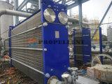 ジュースの生産のための自由な流れの大きな隔たりの版の熱交換器