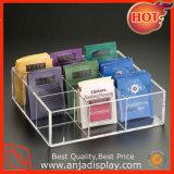 Acrylique/métal/bois MDF/Bac d'accessoire/boîte de maquillage de l'acrylique cosmétique bac d'affichage