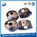 Нержавеющая сталь OEM пробивая штемпелюющ часть с гальванизировать