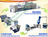 Macchina di fabbricazione di piatto della gomma piuma di PS con le mani del robot