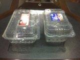 Пластичная коробка плодоовощ контейнера PVC виноградины