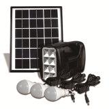 5W Kit Painel Solar Portátil Sistema 3W lâmpadas LED vendas USB
