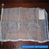 45*60cm durável de PP lenha sacos de malha