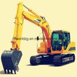15 toneladas de la excavadora de excavación con motor Isuzu