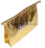 Quilt Storage PP Non Woven Zipper Document Sacos cosméticos