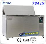 Équipement de nettoyage à ultrasons avec drain / roues / Prise / panier (TS-800)