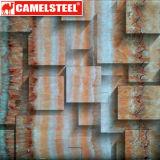 Recentemente il mattone della stampa di Desinged 3D ha galvanizzato la bobina d'acciaio per il rivestimento della parete