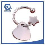 Encadenamiento dominante del regalo de la promoción del OEM del metal con insignia del asunto