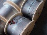 En12385-4 316 A4 1.4401 7X19 20mm 스테인리스 철사 밧줄