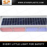 Double feu de signalisation portatif actionné solaire solaire latéral de feu de signalisation des lumières clignotantes SWL-A33-001