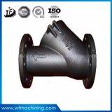 Peças Ductile da válvula do ferro com processo da carcaça da precisão