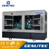 Generador diesel silencioso estupendo de la potencia de Genlitec (GPC100S-II) 80kw 100kVA