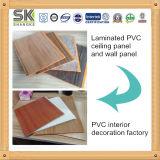El panel de pared PVC laminado fabricante para la decoración de interiores