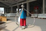 Generatore verticale verde di energia di vento di asse della pianta 200W della turbina di potere dell'alternatore magnetico della sospensione