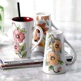 De hand schilderde de Ceramische Mok van de Koffie van het Porselein van de Gift van de Mok van de Melk van de Kop van de Koffie Ceramische