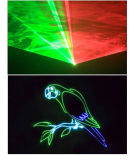 Animação de Natal RGB Laser Lighting for Promotion