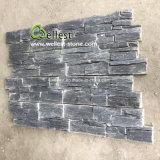 Eco-Friendly dispõem de ardósia negra revestimento de paredes de pedra de Cultura