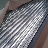 Strato d'acciaio galvanizzato ondulato 0.14mm del tetto