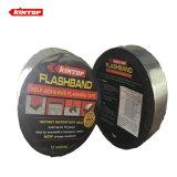 Cinta impermeable del asfalto auto-adhesivo con el papel de aluminio superficial