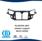El soporte del radiador del panel de depósito de agua para Auto Parts 64101-2h000 para Hyundai Elantra 2007