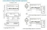 2 와이어 수동태 I/V 변환 격리 전송기 ISO 4-20mA-O2.5