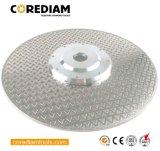230mm Electroplated en pierre avec la bride de lame de scie/outil diamant
