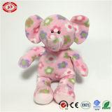 견면 벨벳 연약한 채워진 코끼리 장난감을 앉는 공상 아기 선물