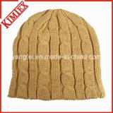 Mais novo design de moda Chapéu de malha Chapéu quente de jacquard Beanie