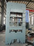 Máquina de imprensa de vulcanização hidráulico de borracha (XLB-D2400*2400/2100toneladas)