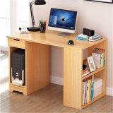 Ordinateur de bureau en bois bon marché avec étagère