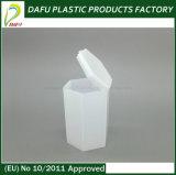 Пластмассовые изделия 100мл PE пластиковые бутылки с шестигранной головкой с Переверните верхнюю крышку