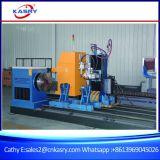 Tagliatrice rotonda d'acciaio del gas del plasma di CNC del tubo di cinque Aixs