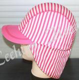 수영 형식 스판덱스 줄무늬 모자