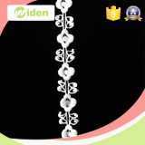 Cordón floral del nuevo de la llegada de las señoras de los juegos del cordón del diseño cordón suizo de la gasa
