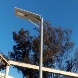 20W все в один светодиод солнечного освещения улиц с датчиком движения