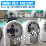 analizador mágico de la piel del espejo del explorador facial de la piel 3D