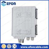 Caixa de distribuição de portas de caixa de terminação FTTX Networks 8