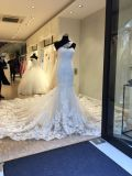 Большая мантия платья венчания Mermaid поезда Bridal