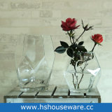 Freie Geometrie-kleiner Glasvase
