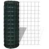Feito na China Green PVC Coated Euro Fence (ZDEF)