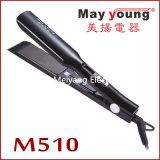 Hierro plano de la enderezadora barata profesional del pelo de la fabricación M510