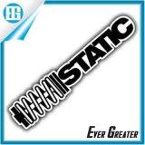 Barato impermeable electrostática de vinilo etiqueta, etiqueta no adhesiva, etiqueta estática Cling