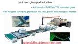 Cadena de producción automática de cristal del emparedado