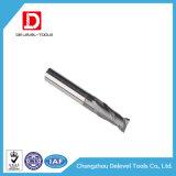 Elevada precisão HRC45/55/60/65 2/3/4/5 de moinho de extremidade do carboneto da flauta para a estaca de alta velocidade geral