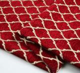 100%년 폴리에스테 패턴 셔닐 실 자카드 직물 실내 장식품 직물