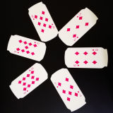 Venda por grosso de fábrica na China jogando cartas personalizadas de Alta Qualidade com preço mais barato