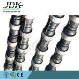 Serra de fio de diamante durável para ferramentas de pedreira de granito