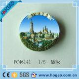 Magneet van de Hars van de Hulp van de Herinnering van de Koelkast van Polyresin 3D (Hg-010)
