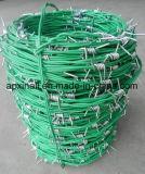 プラスチック上塗を施してある農業の塀の有刺鉄線は電流を通したXinao